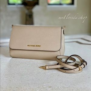 NWT❗️ Michael Kors Jet Set Travel Crossbody Clutch